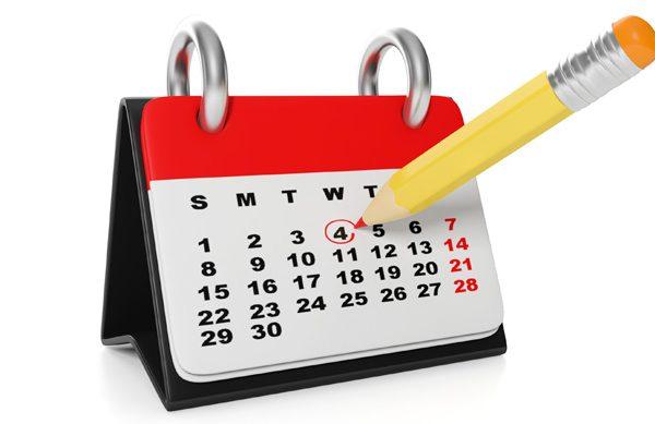 Le calendrier 2016-2017 dévoilé