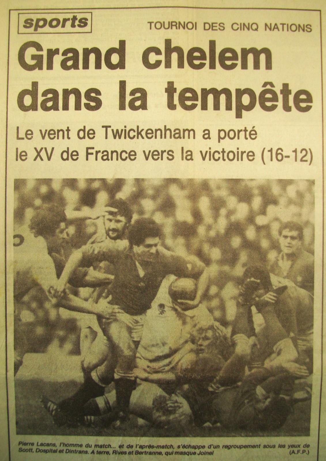 GRAND-CHELEM-1981-POUR-FRANCE
