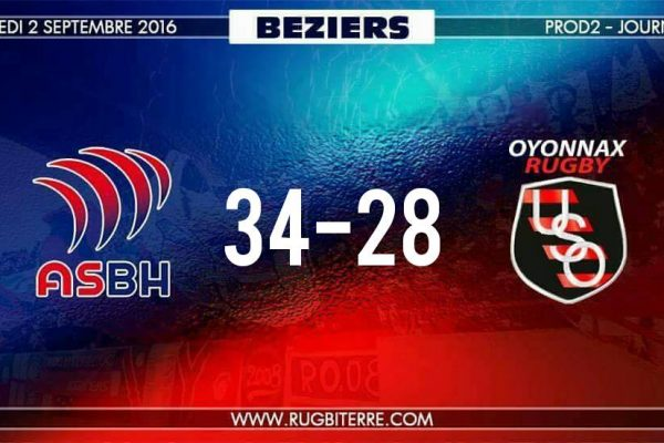 AS Béziers – US Oyonnax