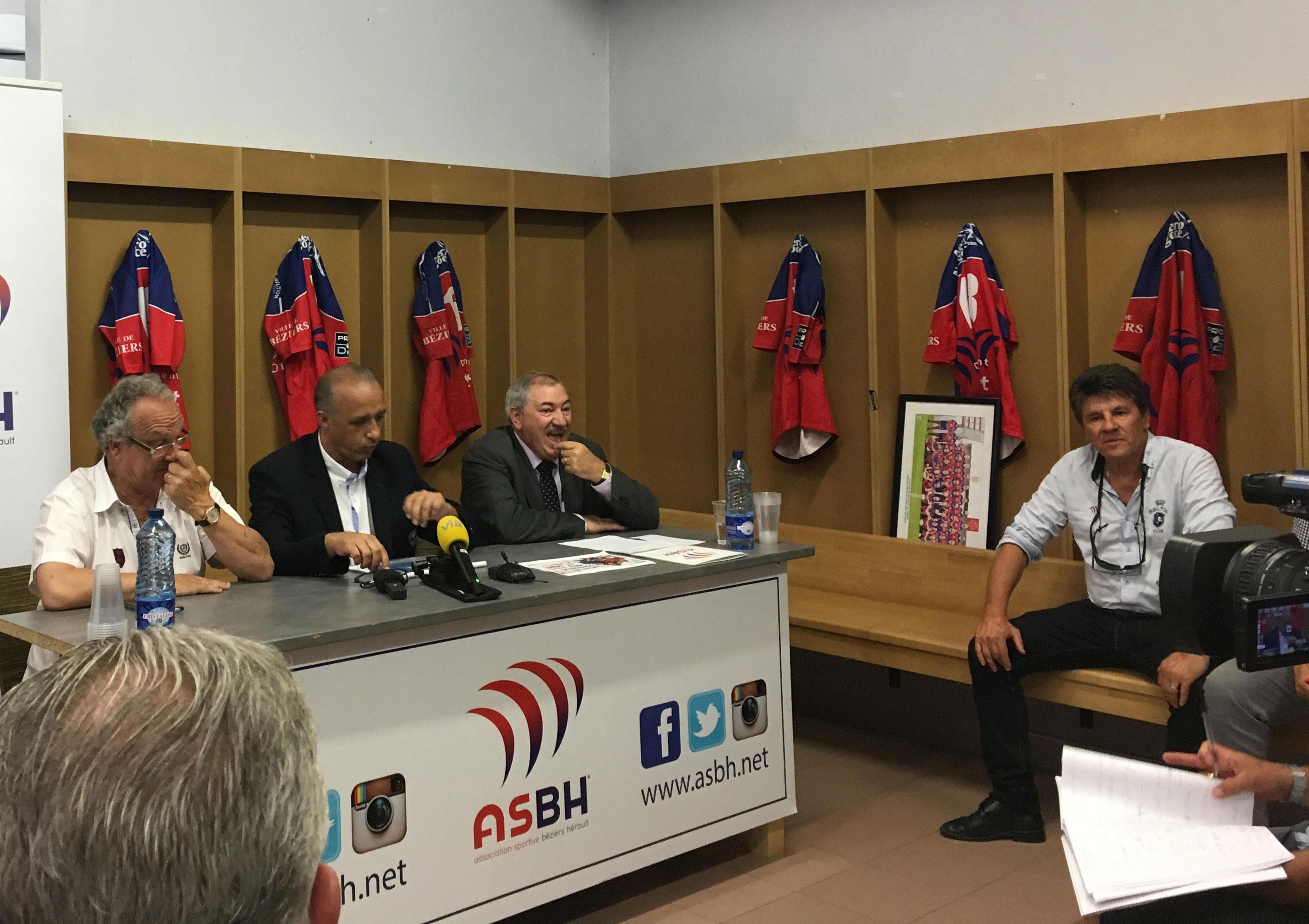 """Pierre-Olivier Valaize, président de l'ASBH :""""Un budget établi à 7,5 millions d'Euros pour cette saison"""""""